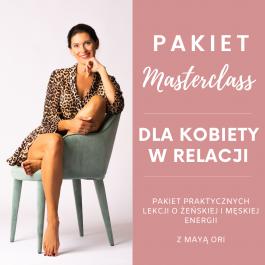 Pakiet Masterclass: Dla Kobiety w relacji